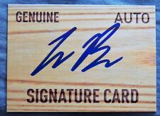 Blake's Brother Colby Bortles Signed Signature Card Auto Detroit Tigers