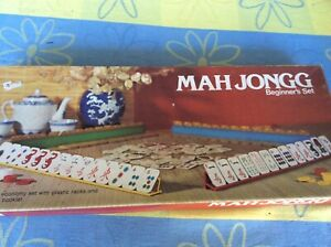 MAHJONG BEGINNERS SET GAME