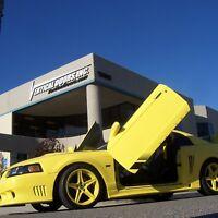 Lambo Doors Ford Mustang 1999-2004 Door Conversion kit Vertical Doors Inc USA