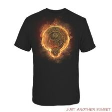 Hunger Games District 12 Stone Seal on Fire Shirt Mockingjay Catching Fire NEW