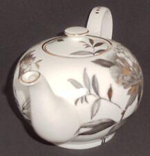 Grace Tea Ware Tea Pot -Gray and metallic bronze color - elegant and practical
