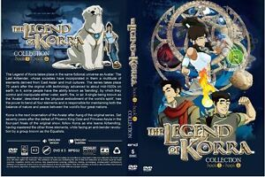Avatar: The Legend Of Korra: Book 1234 (Chapter 1 - 52 End) ~ All Region ~