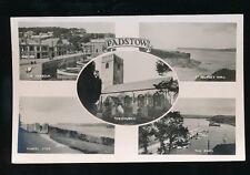 Cornwall PADSTOW M/view used 1938 RP PPC local pub Edyvane