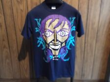 Jeff Hardy shirt Nero TNA 10 years of Impact small blue abstract painting