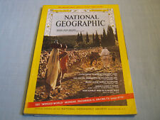 VINTAGE NATIONAL GEOGRAPHIC December 1967 WAR IN THE HOLY LAND Chesapeake MARS
