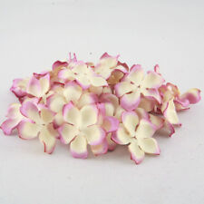 Mallow Mix Mulberry Paper Blooms Card Making Craft Embellishment Flowers Pbc038