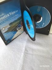 Microsoft 2006 Streets & Trips Travel & Map 2 Cd Software Voice Prompted W/WinXp