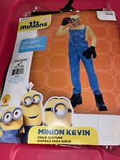 MINIONS MOVIE MINION KEVIN CHILD HALLOWEEN COSTUME BOY LARGE 12-14