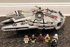 Lego 4504 Star Wars Millennium Falcon Complete w/All Minifigures