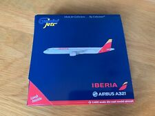 IBERIA SPAIN Airbus A321 Diecast Model 1:400 Gemini Jets GJIBE1494 IBERIA ESPANA