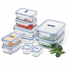 GLASSLOCK Tempered Glass Food Container Set 10pce