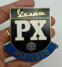 Vintage Badge Emblem Vespa 80s Mods PX Series Piaggio LOGO BRASS GS ULMA VIGANO