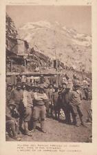 C675) WW1, ALPINI ALL'ORA DEL RANCIO PRESSO LE CUCINE.