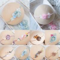 Newborn  Flower Pear Headband Girl Hair Accessories Photography Props New-