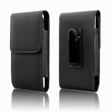 "Leather Case Holster Pouch for Apple iPhone 8 / 7 / 6s / 6 4.7"" with Belt Clip"