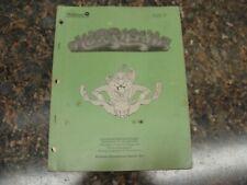 Hurricane Pinball Machine Service Manual, Atlanta (713)