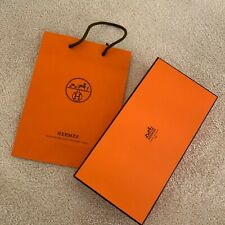 Hermes Box and Shopping Bag - Classic Orange