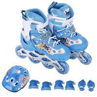 Inline Skates Adjustable Roller Skates Illuminating Wheel Xmas Gifts for Kids BP