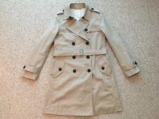 Women's GAP Double Breasted trench-coat Taille XS Kaki/Beige