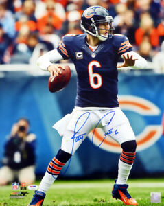 JAY CUTLER AUTHENTIC AUTOGRAPHED SIGNED 16X20 PHOTO CHICAGO BEARS PSA/DNA 102505