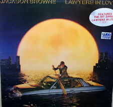 JACKSON BROWNE - LAWYERS IN LOVE LP - IN EXCELLENT CONDITION