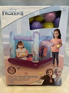 Disney Frozen II 2 True To Myself Playland Inflatable Ball Pit & 20 Balls