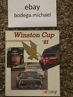 nascar winston cup yearbook 1991