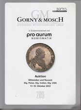 C1 Gorny Mosch Catalogue MONNAIES Allemagne Pologne Inde Russie COULEURS 2012