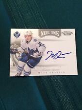 2011-12 Panini Contenders NHL Ink #59 Matt Frattin Auto RC