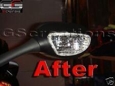 Suzuki GSX-R 1000 600 750 Chrome Mirror Bulbs Gixer