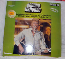 DISQUE VYNIL 33T LP JOHNNY HALLYDAY VOLUME 10