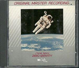 Bach, Steve Zero Gravity  MFSL Silver/Cafe Records CD Cut Out