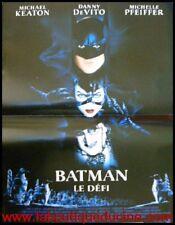 BATMAN LE DEFI Affiche Cinéma / Movie Poster TIM BURTON 60x40