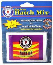 SAN FRANCISCO BAY BRAND BRINE SHRIMP HATCH MIX 3PK FISH FOOD 17.5 GRAM.FREE SHIP