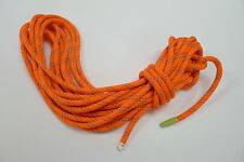 """Teufelberger Premium Rope KM III 7/16"""" X 44' Orange Whipped Ends"""