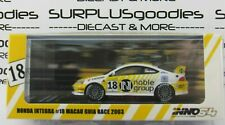 INNO64 1:64 2019 HONDA INTEGRA Type-R DC5 Macau Guia Race 2003 Noble Group #18