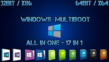 Windows Multiboot AIO USB Stick - 32Bit / 64Bit (Win 7, Win 8.1, Win 10)
