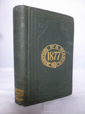 1877 Lett's Diary and Almanac HB - Unused