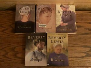 Abrams Daughters Series Beverly Lewis Complete 5 Book Set Lot Paperback Amish
