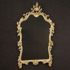 Mirror Venetian Furniture Mirror Frame Wooden Golden Antique Style 900