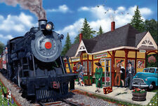 Jigsaw Puzzle Train Kirkland Station 2000 pieces NEW