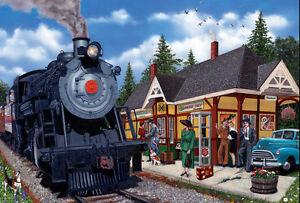 Jigsaw Puzzle Train Kirkland Station 2000 pieces NEW