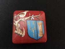 Limoges France Hostel Dieu de Braune 1443 Square Bird Trinket Box Free Shipping