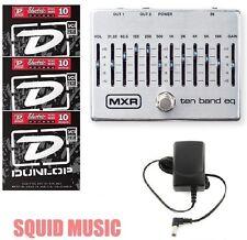 MXR Dunlop Ten Band Graphic EQ Pedal M108S M-108S 10 BAND ( 3 STRING SETS )
