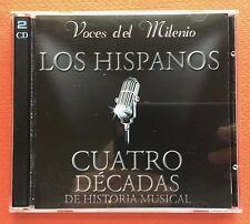 Los Hispanos Voces Del Milenio Cuatro Decadas CD 2Cds 1999 AJ Puerto Rico