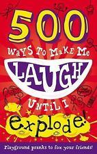 500 Ways to Make Me Laugh Until I Explode, Tick Tock, Good Book