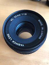 Yashica ML 50mm f1.9 Lens