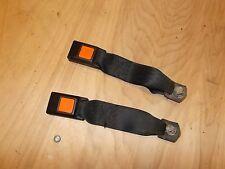 Nissan Pulsar NX SE Rear Seat Belt Recepticles 87 88 89 90 Used OEM Black