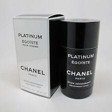 Platinum Egoiste by Chanel 2.0 oz Deodorant Stick NIB