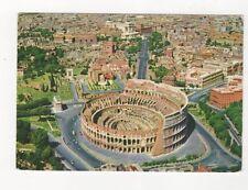 Roma Colosseo Veduta Aerea 1962 Postcard Italy 560a